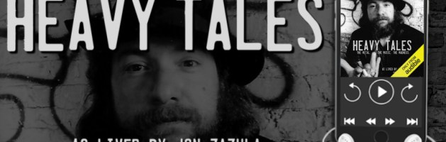 🎧 Audio Blog Tour: Heavy Tales by Jon Zazula