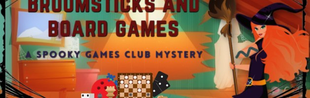 🎧 Audio Tour: Broomsticks and Board Games by Amy McNulty