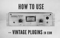 How To Use Vintage Plugins in EDM with Kirk Degiorgio – Snare through 1176, J37 and Kramer Tape