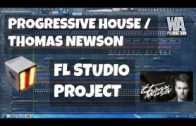 FL Studio Template 13: Thomas Newson / Progressive style Project (+ FREE FLP, Samples, Presets)