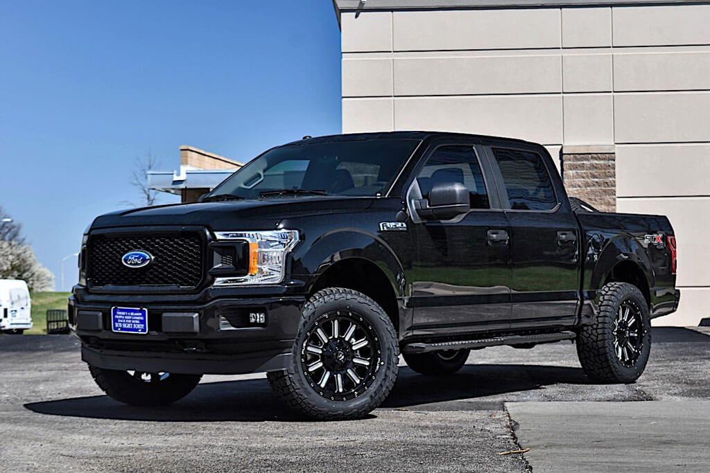 """Car and driver has the latest automotive news. 18"""" Fuel Wheels D620 Hardline Gloss Black Milled Off-Road"""
