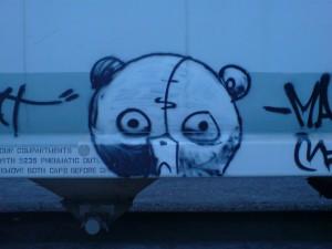 Grouchy Panda