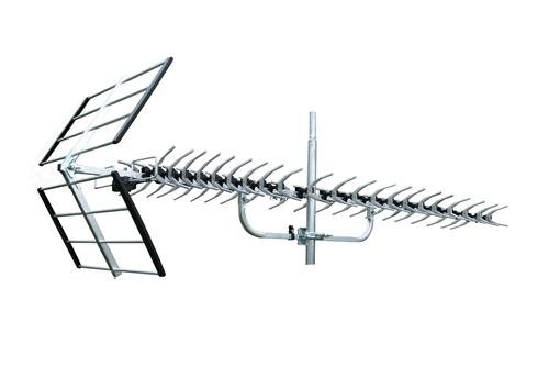 36 db High Performance VHF / UHF / FM / HDTV Signal