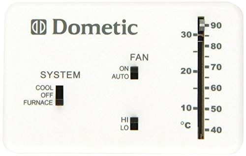 Dometic 3106995.032 Heat/Cool Analog Thermostat