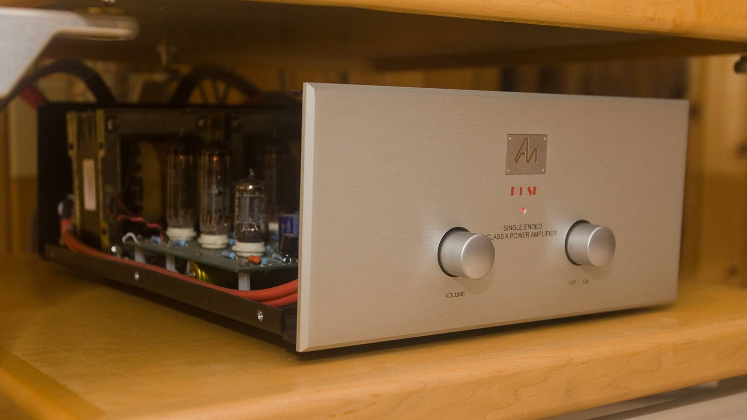 hight resolution of audio note p1 se amplifier
