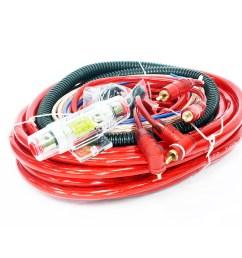 audiofusion 4gauge professional car audio wiring kit [ 900 x 900 Pixel ]