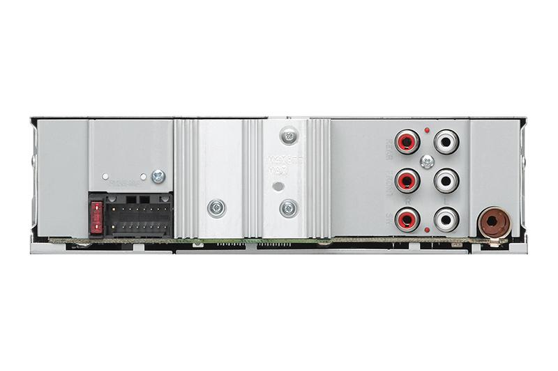 KENWOOD USB AUX RADIO KMM105M 4
