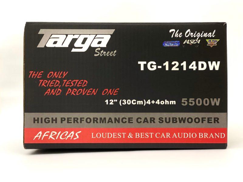 "12"" TARGA SUBWOOFER STREET DVC 5500W TG1214DW 2"