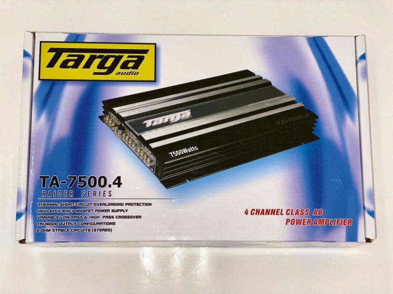 TARGA AMPLIFIER 4CH RAIDER 7500W TA7500.4 2