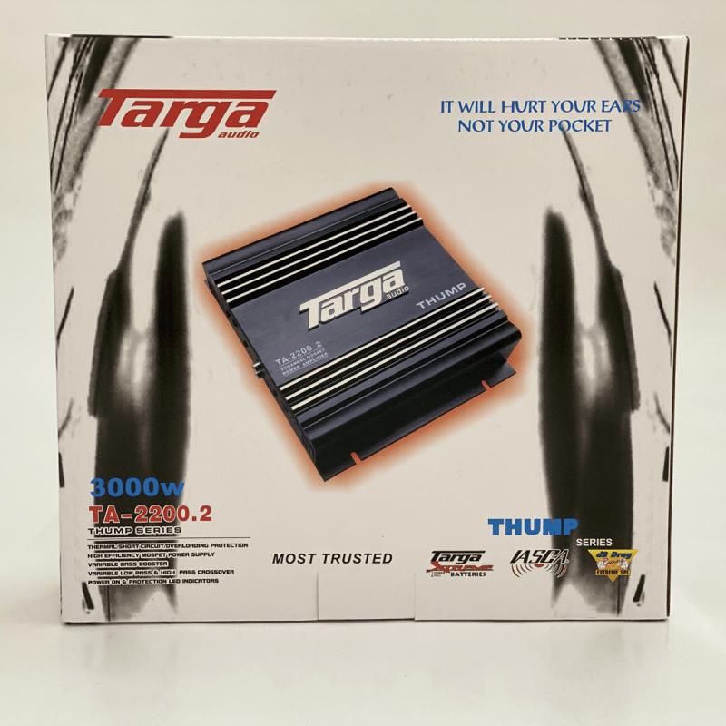 TARGA AMPLIFIER 2CH THUMP 2200W TA2200.2