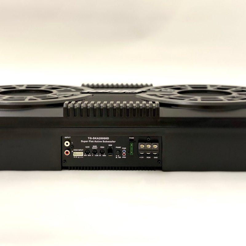 10'' TARGA DOUBLE ACTIVE SUB+AMP 20000W TGSKA20000.1D 4