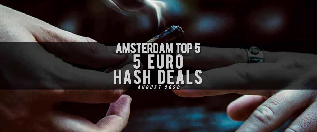 5 euro hash deals blog cover august