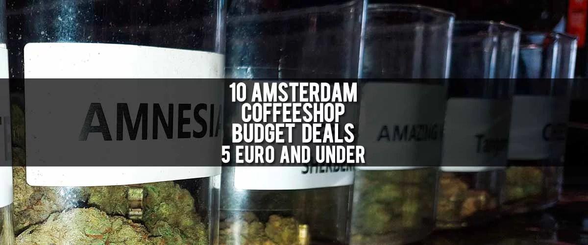 Blog Featured Image - 10 Amstredam Coffeeshop Budget Deals