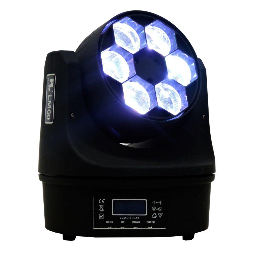 Cabeza Mvil LM60 PL Pro Light 6x10w RGBW  Audio Luces