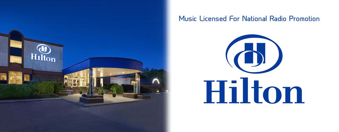 "Hilton Hotels national radio promotion licensed ""ALIBI-Hale Bop"" through Alibi Music Library"