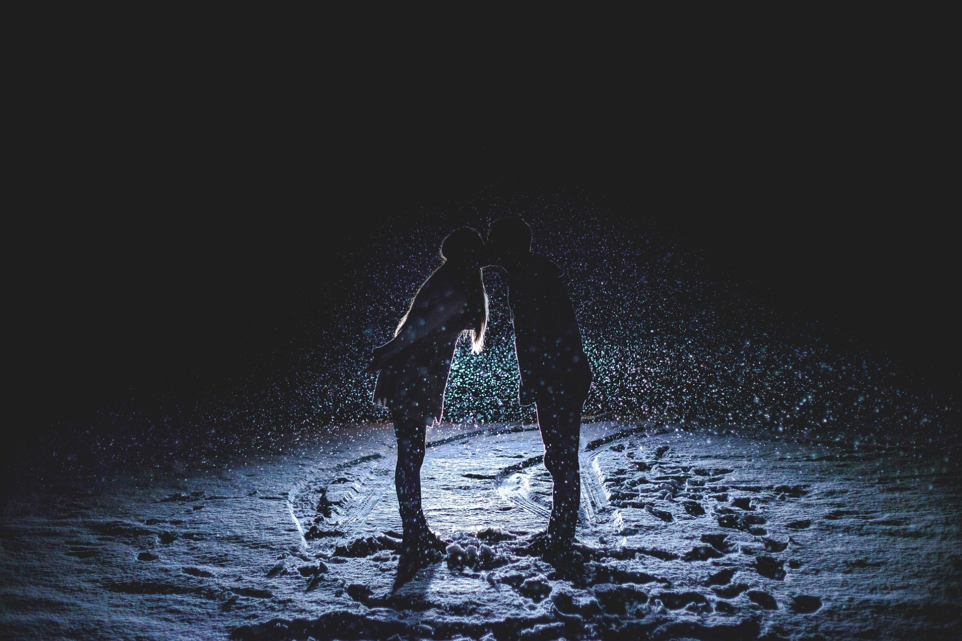 Because the Night belongs to lovers....because the night belongs to us.