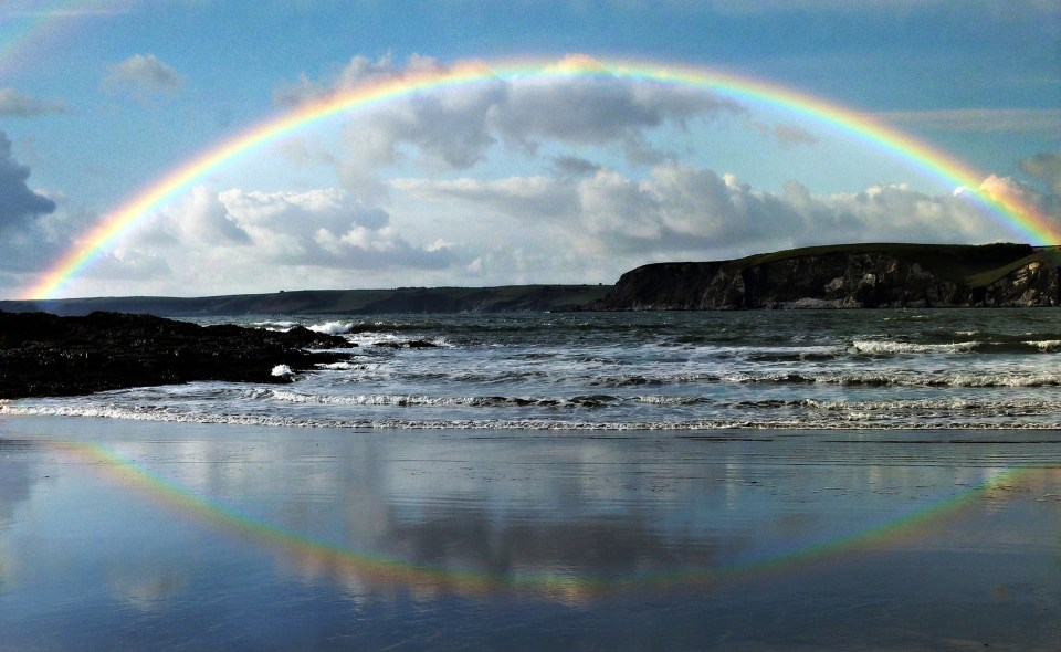 The Rainbow Connection - more than just a muppet singing. It's beauty, it's love, it's peace.