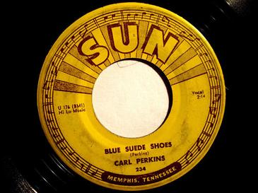 Blue Suede Shoes Cover versions of a Carl Perkins song.