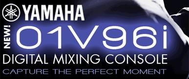 Yamaha lança novo console 01v96i  1