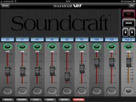 SoundCraft ViSi remote para iPad 2