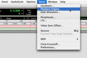 Dicas de Pro Tools - Playback Engine 1