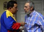 Visita de Chávez a Fidel