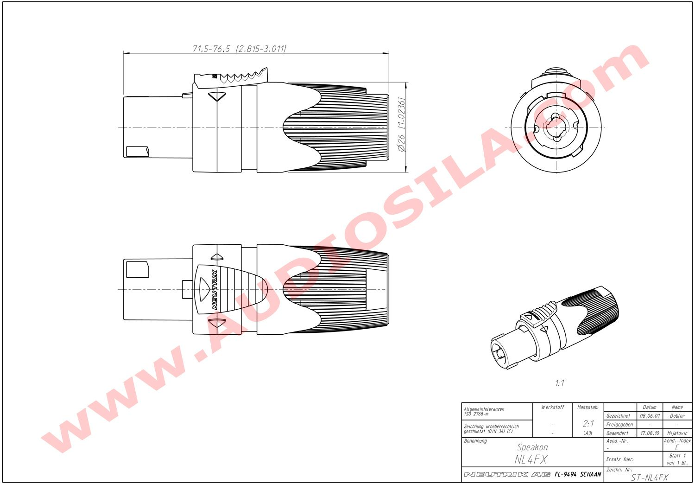 speakon cable wiring diagram 1971 toyota fj40 combo audio jack imageresizertool com