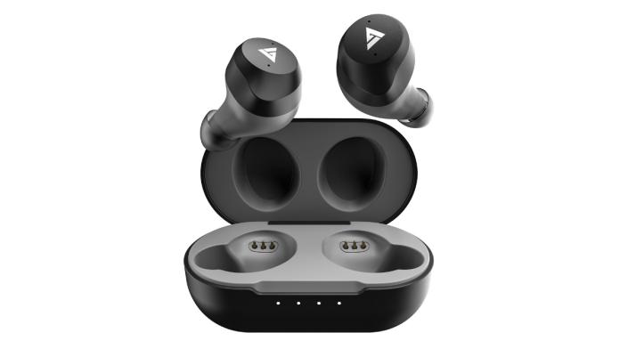 Boult Audio Truebuds earphones with charging case