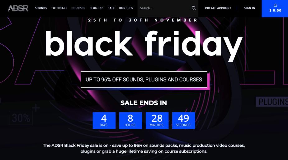 ADSR Black Friday Deals