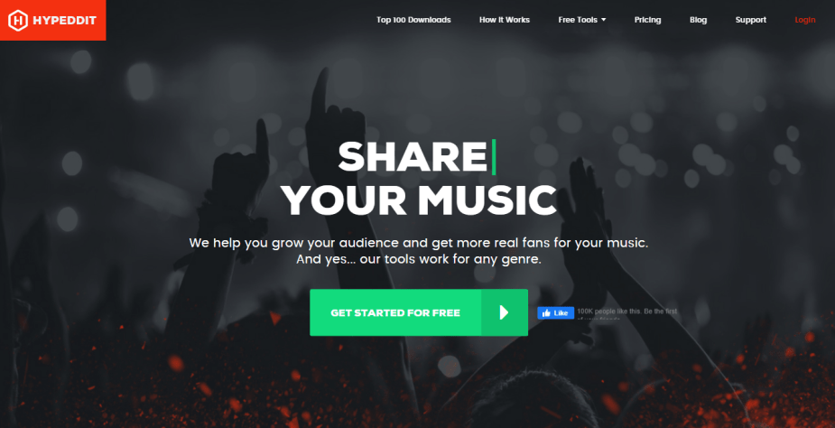 You can use Hypeddit's download gateway to get a follow to your Spotify before giving away a free download!