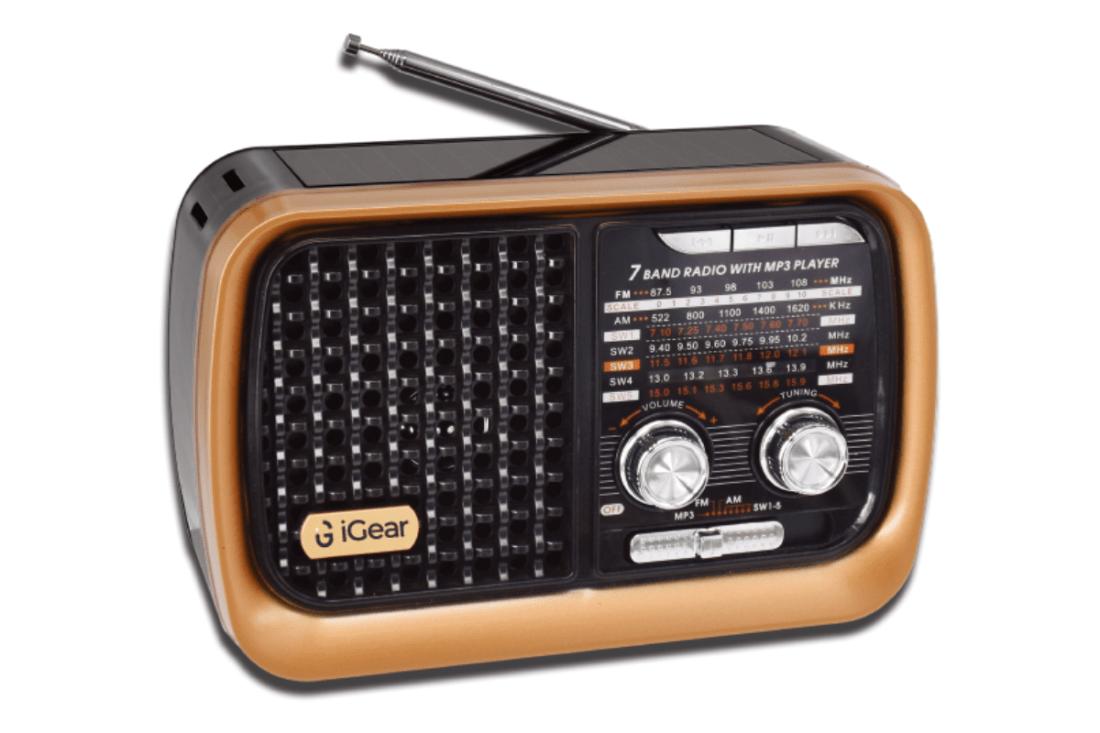 iGear 7 Band Retro Styled Radio