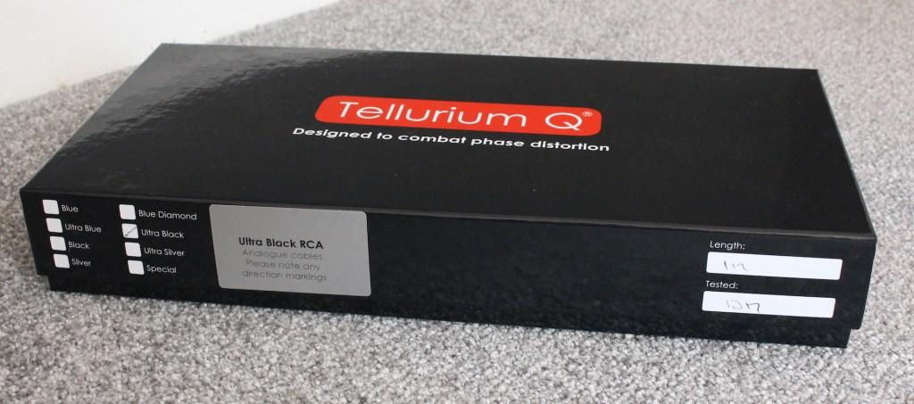 Tellurium Q Ultra Black RCA Interconnect @ Audio Therapy