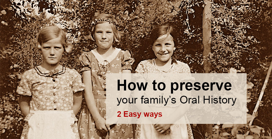 How to preserve your family's oral history - Audio Transcription Center Blog