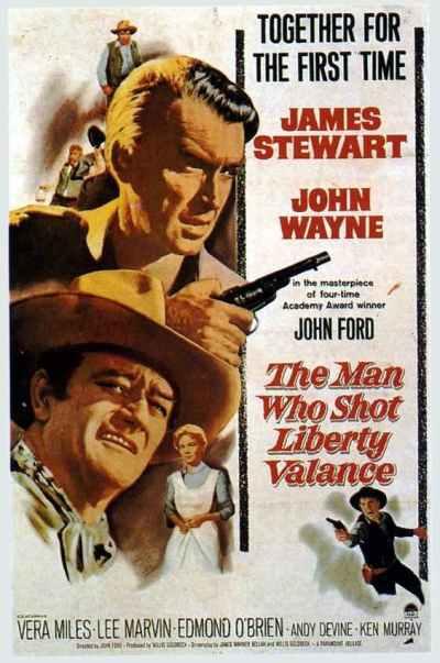 El hombre que mató a Liberty Valance (The man who shot Liberty Valance, 1962)
