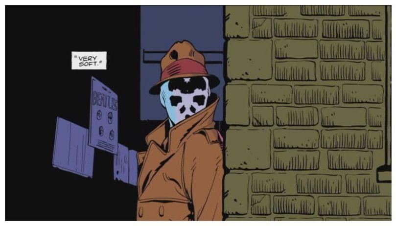 Watchmen cómic animado