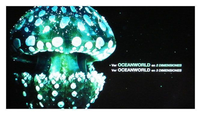 Oceanworld - menu