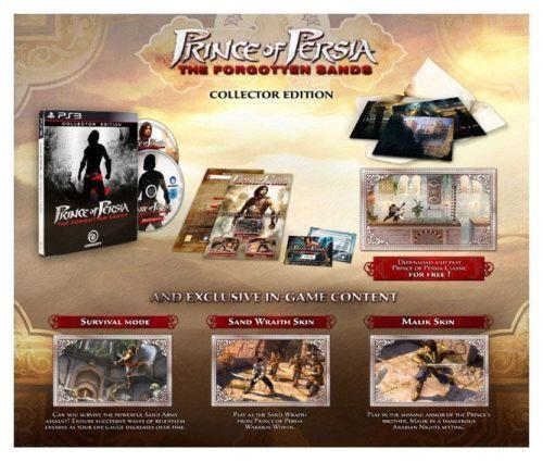 Prince of Persia, Las Arenas Olvidadas Edición Coleccionistas