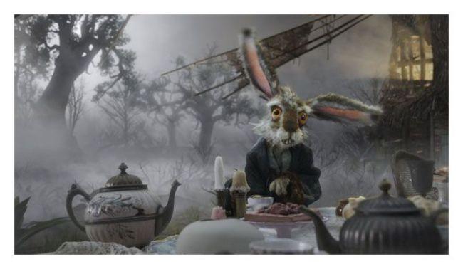 Alicia en el País de las Maravillas (Tim Burton)