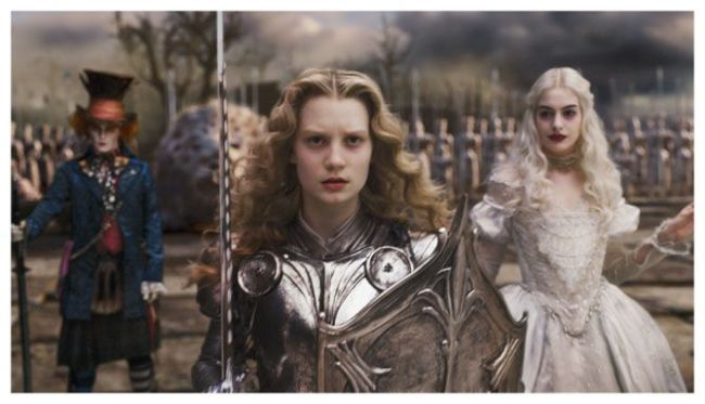 Alice in the wonderland (Tim Burton)