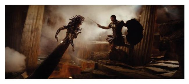 Medusa y Perseo - Furia de Titanes (2010)