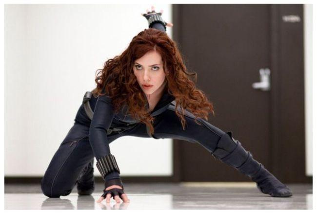 Scarlett Johansson en Iron Man 2