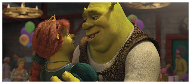 Fiona y Shrek
