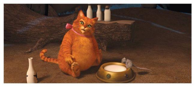 El Gato con Botas está muy gordo