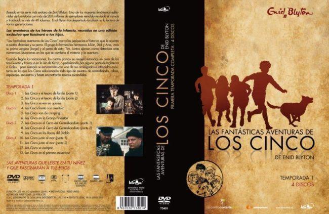 LAS FANTÁSTICAS AVENTURAS DE LOS CINCO, de ENID BLYTON