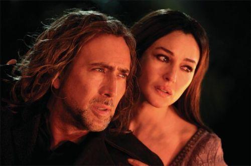 Nicolas Cage y Monica Bellucci en El Aprendiz de Brujo