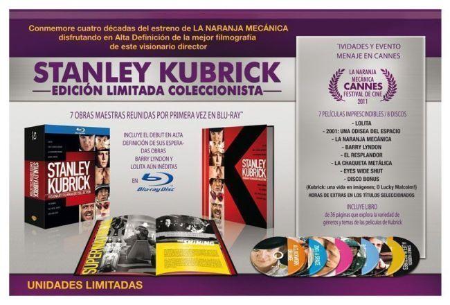 """""""STANLEY KUBRICK – EDICIÓN LIMITADA COLECCIONISTA"""""""