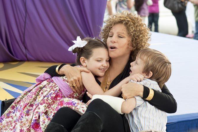 "Barbra Streisand en ""Ahora los padres son ellos"""