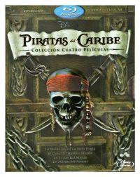 """""""Piratas el Caribe: en mareas misteriosas"""" (2011) Pack con 5 BDs"""