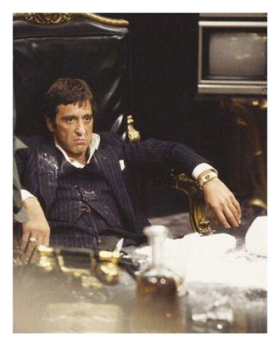 """Al Pacino en """"Scarface, El Precio del Poder"""" (1983)"""