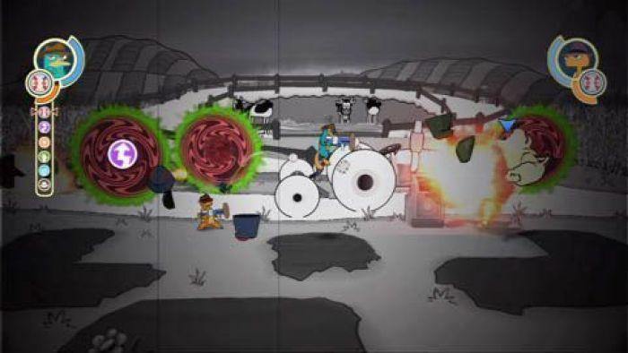 """""""PHINEAS & FERB: A TRAVÉS DE LA SEGUNDA DIMENSIÓN"""""""